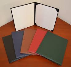 custom leather diploma covers