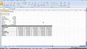 How Do I Make A Profit And Loss Statement Proforma Income Statement YouTube 17