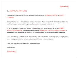 Sample of Resignation Letter Template in Detailed to Quit Job