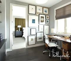 Office Paint Color Home Office Office Workspace Combination Color