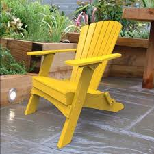 yellow outdoor furniture. Malibu Outdoor Living Hyannis Folding Adirondack Chair - Yellow Furniture