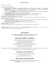 Law Enforcement Resume Template Best Law Enforcement Objective Law Enforcement Resume Objective 48 Police