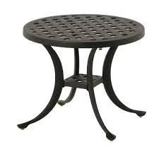 newport 21 round cast tea table