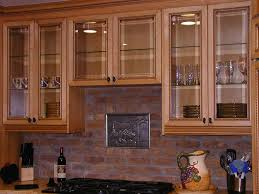 Enhance Your Kitchen Beauty With Glass Cabinet Doors Various Types