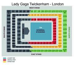 Blog Sale Lady Gaga Born This Way Ball Tickets 9th