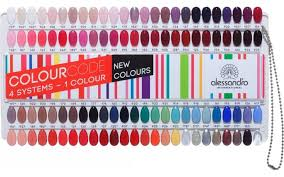 Alessandro Colour Chart Novelties