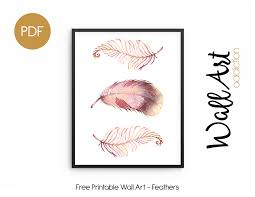 lovely design printable wall art addiction feathers free es decor for nursery stencils