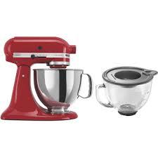 kitchenaid artisan 5 qt empire red stand mixer