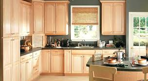 kitchen wall colors with maple cabinets. Amazing Kitchen With Light Maple Cabinets And Dark Grey Wall Colors Granite M