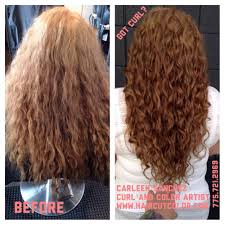 Картинки по запросу layering curly hair before and after