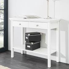 White Country Console Table Console Table Building Country