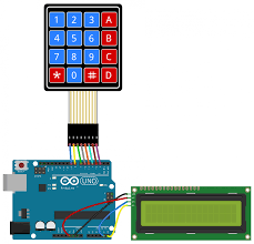 how to set up a keypad on an arduino circuit basics keypad wiring diagram for a pro 79 code for output to an lcd