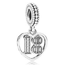 pandora 18 years of love pendant charm 797262cz pandora charms from gift and wrap uk