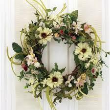 Christmas Paper Flower Wreath Wreaths Birch Lane