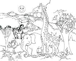Forest Animal Coloring Page Forest Coloring Pages Forest Coloring Pages Printable Forest