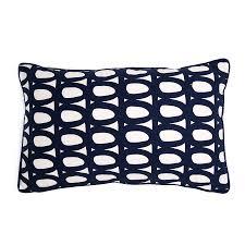 <b>Чехол для подушки</b> с принтом Twirl <b>темно</b>-<b>синего</b> цвета и ...