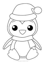 Cute penguin printable coloring page. 8 Free Printable Large Snowflake Templates Christmas Coloring Sheets Penguin Coloring Pages Penguin Coloring