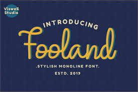 Available in png and vector. Fooland Font By Agamous Creative Fabrica In 2020 Script Fonts Logo Design Typography Script