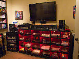 video gaming room furniture. Ultimate Video Game Room Includes Nearly Every Console Ever Made Gaming Furniture O