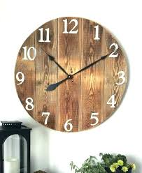 rustic wall clocks large best ideas on oversized extra l