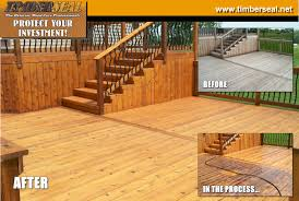 deck cleaning and sealing services indiana deck cleaning sealing d58