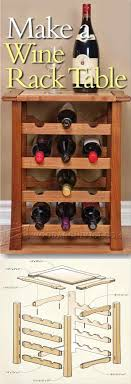 wine rack cabinet plans. Wine Rack Table Plans - Furniture And Projects | WoodArchivist.com Cabinet