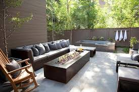 deck patio with fire pit. Modern Outdoor Fire Pit Deck Patio With R