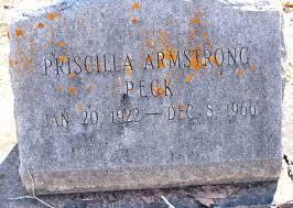 Priscilla Armstrong Peck (1922-1966) - Find A Grave Memorial