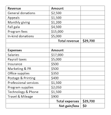 Nonprofit Budgeting How To Create Your New Nonprofits First Budget Get Fully