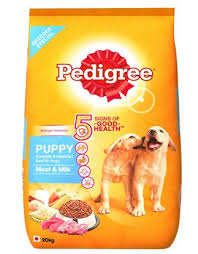 Pedigree Puppy Dog Food Meat And Milk 20 Kg
