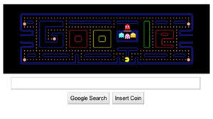 google doodle interactive. Unique Interactive PHOTO To Celebrate The 30th Anniversary Of Classic Video Arcade Game  Google Unveiled Its And Doodle Interactive S