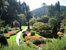 The Sunken Garden of Butchart Gardens, Victoria, British Columbia