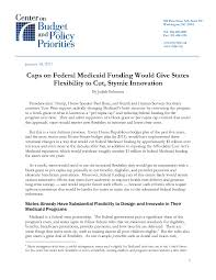caps on federal medicaid funding would give states flexibility to  file type icon