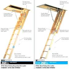 attic ladder replacement hinges attic ladder replacement parts wooden attic ladders ceiling height 7 ft to