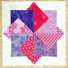 Card Trick Quilt Pattern Simple Craft Sew Create Super Card Trick FREE Block Pattern
