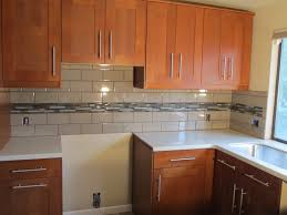 Tiled Kitchen Backsplash Kitchen Tile Subway Tile Backsplash Kitchen