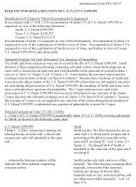 Chapter 2200 Citation Of Prior Art And Ex Parte Reexamination Of