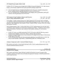 Sap Support Sample Resume Configuration Management Resume High