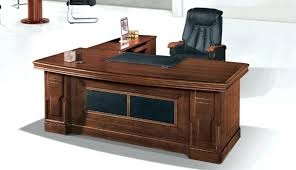 attractive wooden office desk. Wooden Office Desk Wonderful Industrial Metal Wood Throughout Attractive Accessories . I