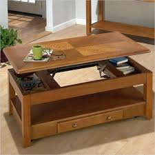 coffee table that raises up coffee table modern cherry lift top coffee table with storage for