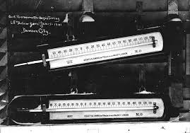 "knowledge or instinct jack london s ""to build a fire"" edsitement  thermometer registering 68 degrees below"