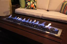 coffee table fire pit dining outdoor patio furniture propane table
