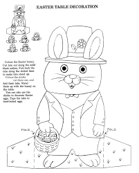 Easter Table Decoration Richard Scarry Coloring