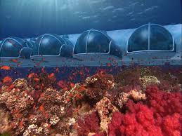 hydropolis underwater resort hotel. Luxury Poseidon Undersea Resort : Unusual Futuristic Underwater Hotel In Fiji Hydropolis