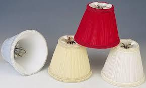 chandelier shades clip on. Blue, Beige, Red, Cream Pleated Silk Chandelier Shades Clip On P