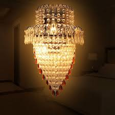 luxurious modern wall light k9 crystal