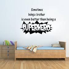Small Picture Wall Quotes Being A Superhero Funny Wall Stickers Home Decor Home