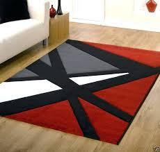 black white rugs modern modern red rug red and black rugs plan modern red black black white rugs modern