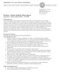 Student Affairs Officer Sample Resume Student Affairs Officer Sample Resume shalomhouseus 1