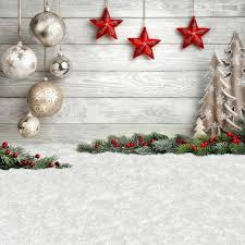 Christmas Background Allenjoy Christmas Background Photography Ball Stars Child White Wooden Tree Decoration Photographic Photocall Navidad Backdrop